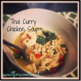 thai curry chickensoup